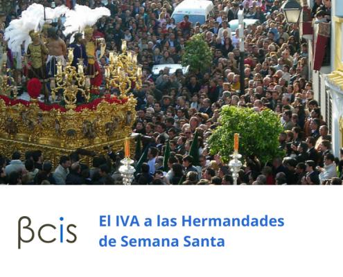 El IVA a las hermandades de Semana Santa